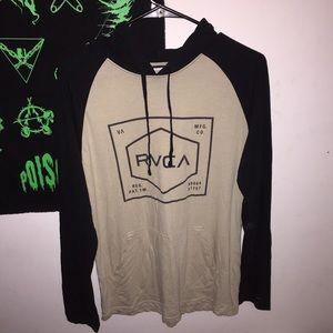 RVCA thin hoodie, super comfortable & soft. medium
